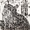 Marsupial fuctus  100 x 100 cm