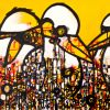 The Dacelo family (Kookaburras)  51 x 153 cm SOLD